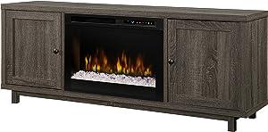 DIMPLEX Jesse Electric Fireplace, One Size, Iron Mountain Grey