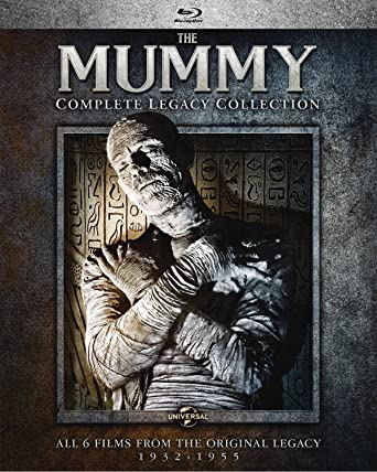 Amazon Com The Mummy Complete Legacy Collection Blu Ray