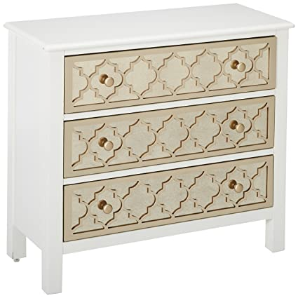 Pulaski DS A259 850 Accent Drawer Chest With Mirrored Drawer Fronts,  34.0u0026quot;