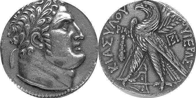 Golden Artifacts Judas, traición de Cristo, Moneda Shekel de Tyros ...