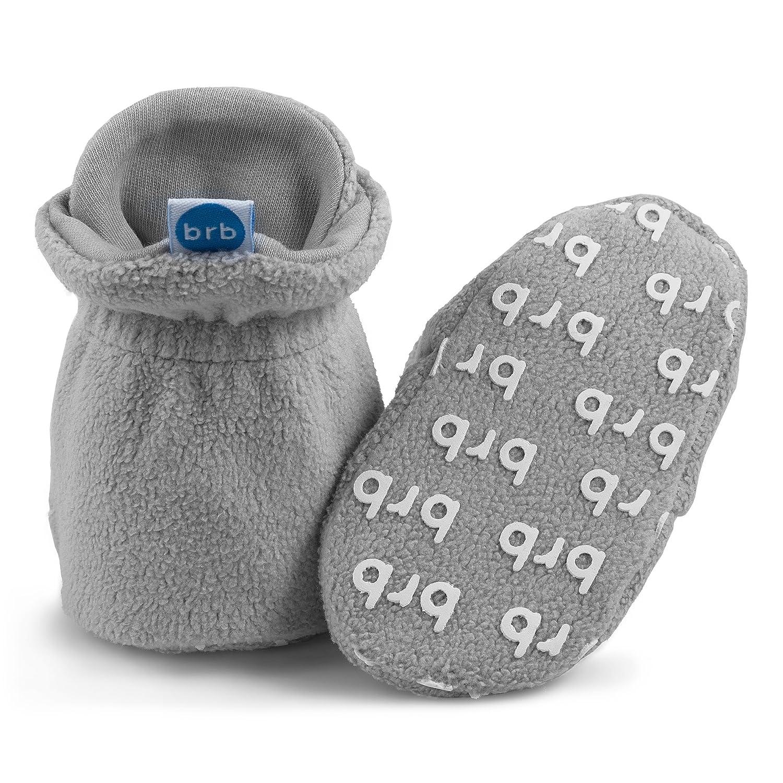 Neonati o Bambini! BirdRock Baby Stivaletti in Pile Pantaloni in Cotone Biologico e Non Antiscivolo Mantieni i Calzini pi/ù bravi di Neonati Stivaletti per Ragazzi e Ragazze