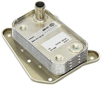 Nissens 90581 Radiador de Aceite, Aceite Motor