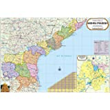 Buy Telangana Physical Map Book Online at Low Prices in India