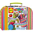 My First Sewing Kit by Alex Crafts, Perfect Sewing Kit for Beginners, Arts and Crafts Colorful and Fun Sewing Projects to Lea