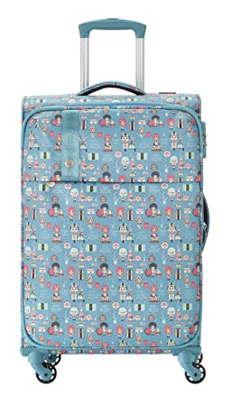 e9be18b0ed Travelite Lil'Ledy Bagage Cabine, 66 cm, 70 liters, Turquoise (Türkis