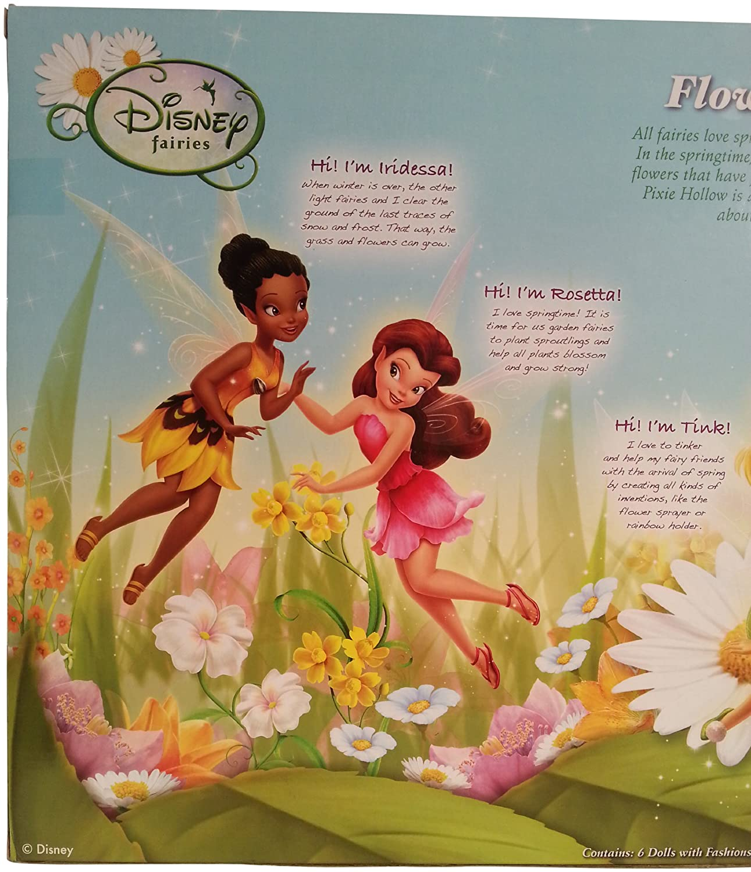 amazon com disney fairies exclusive 9 inch dolls flowers