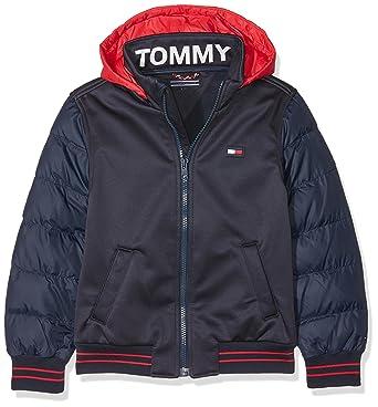 urheilukengät paras paikka verkkokauppa Tommy Hilfiger Boy's Bonded Sports Jacket, Blue (Black Iris ...