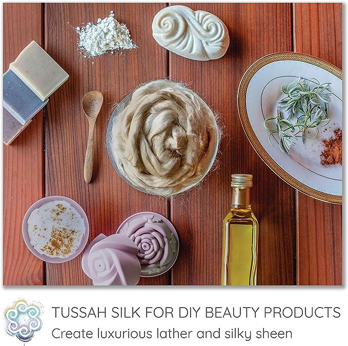 Tussah Silk Tops from DHG Powder 2 oz