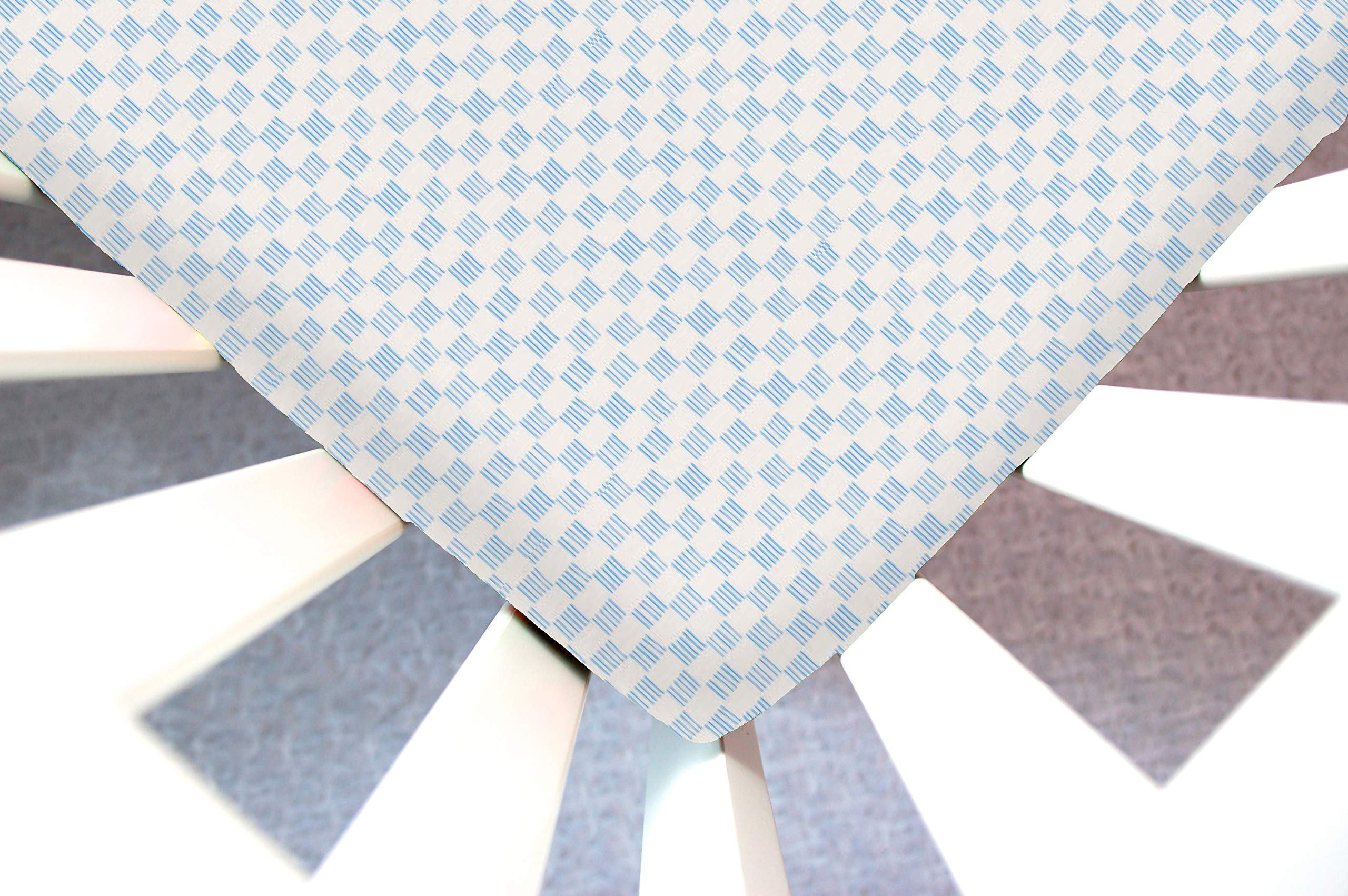 Little Moose by Liza Handmade Sheet Made to Fit IKEA Toddler in Dorothy (Blue Checkered). This Sheet was Not Created or Sold by IKEA. by Little Moose By Liza LLC