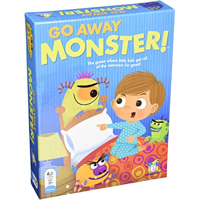 Go Away Monster Board Game: Toys & Games