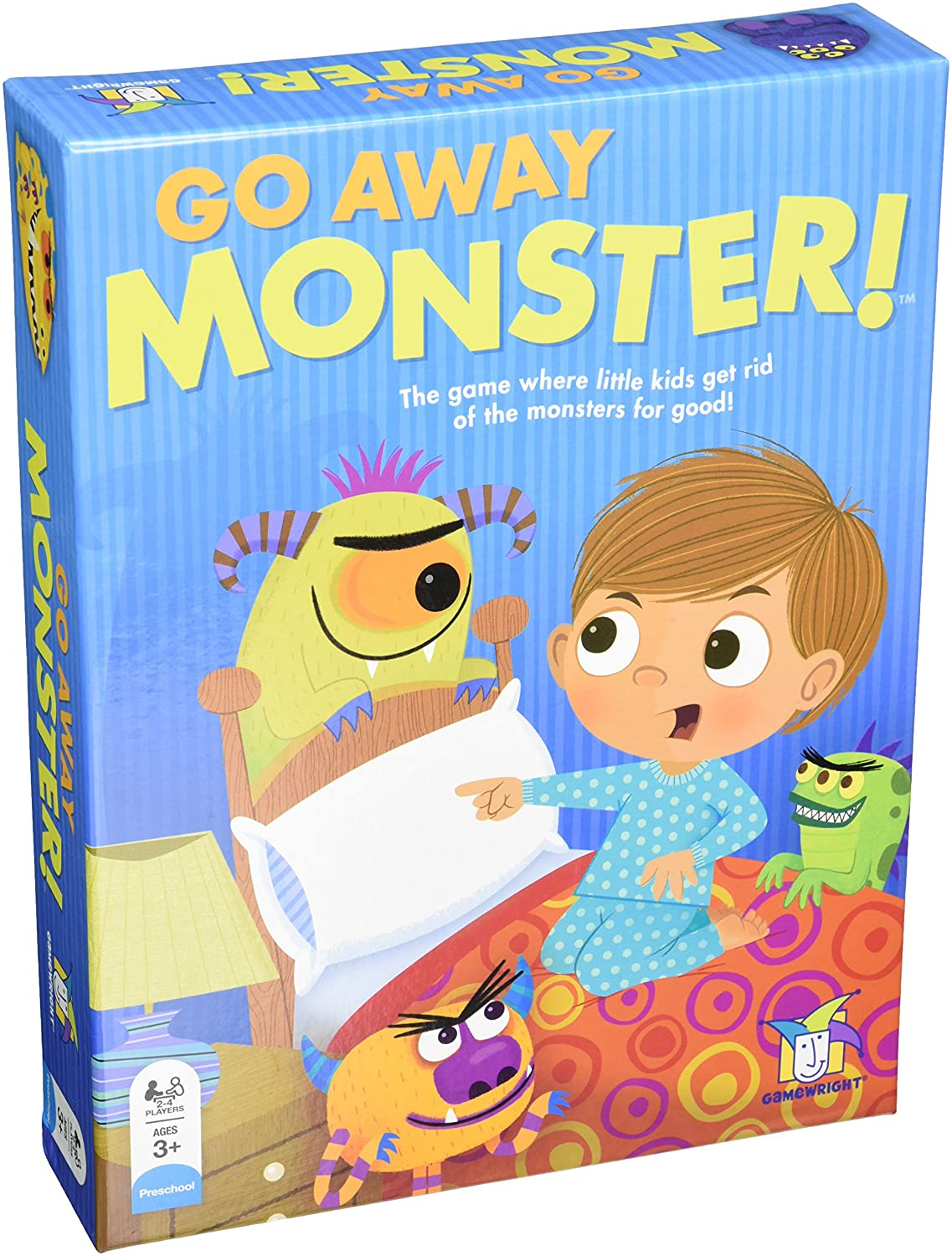 Go Away Monster Board Game