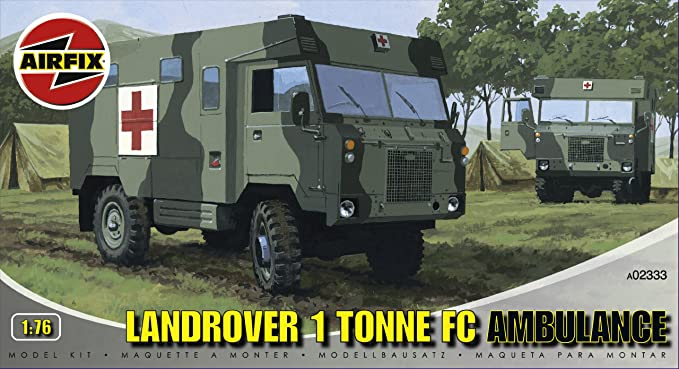 Amazon.com: Airfix A02333 1:76 Scale Land Rover 1 Tonne FC ...