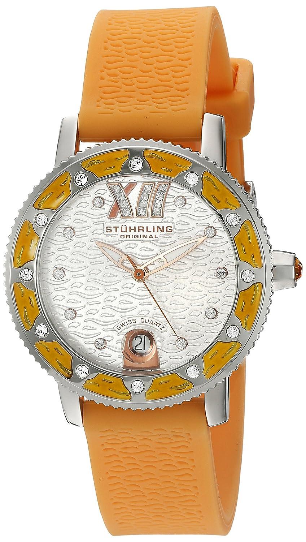 Stuhrling Original Women s 225R.1116F2 Ladies Lifestyles Lady Marina Sport Swiss Quartz Quick Set Date Watch