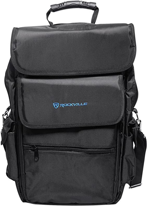 Rockville Carry Bag Backpack Case For Denon MC4000 DJ Controller