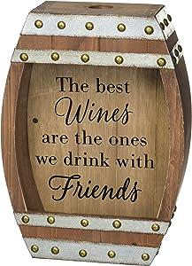 Burton & Burton Decor Wine Barrel Cork Holder