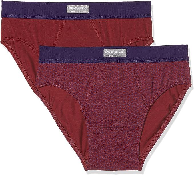 Ocean ASA5399 Slip, Morado (Morado Estampado 1J8), Large (Tamaño del Fabricante:L/52) (Pack de 2) para Hombre: Amazon.es: Ropa y accesorios