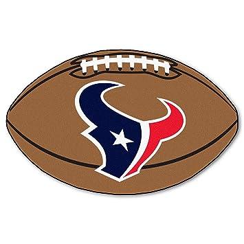 FANMATS NFL Houston Texans Nylon Face Football Rug