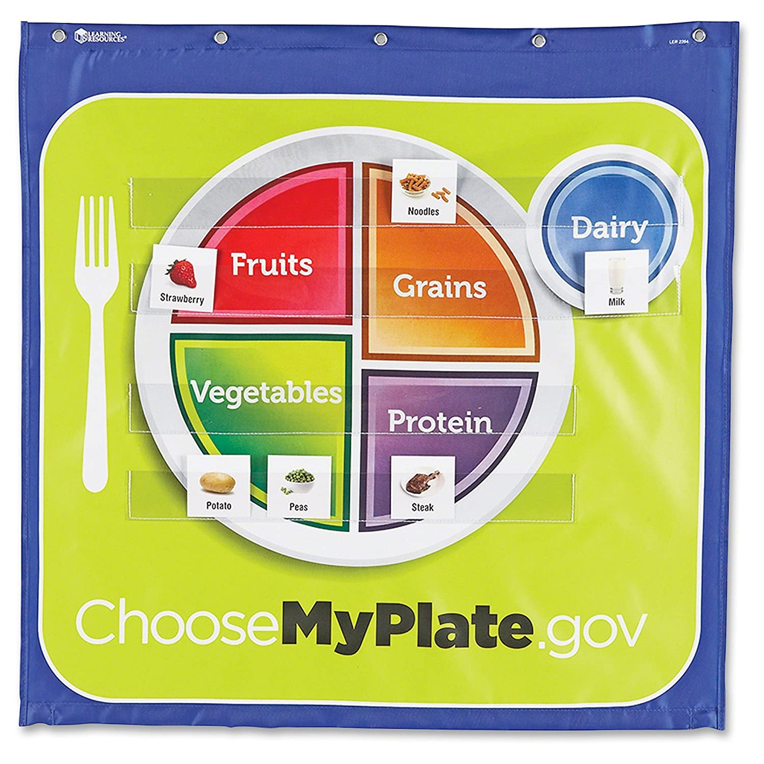 amazon com learning resources healthy helpings myplate pocket