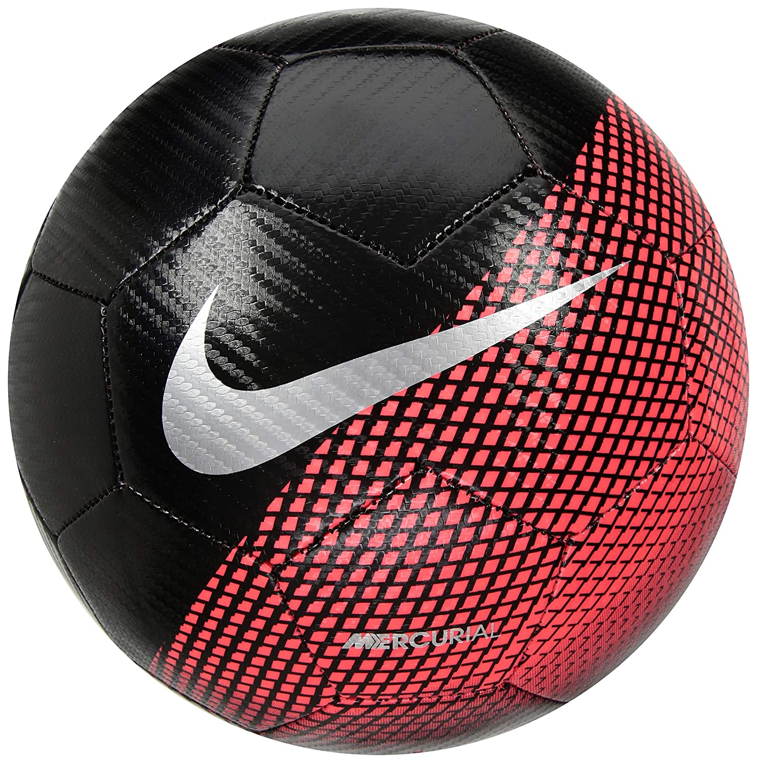 Nike CR7 Prestige Balón, Unisex Adulto, Negro (Black/Flash Crimson ...