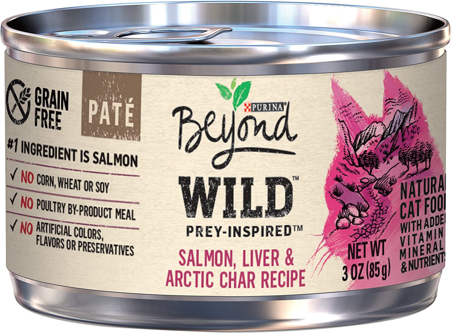 Purina Beyond Grain Free, Natural, Adult Dry Cat Food Featured Image