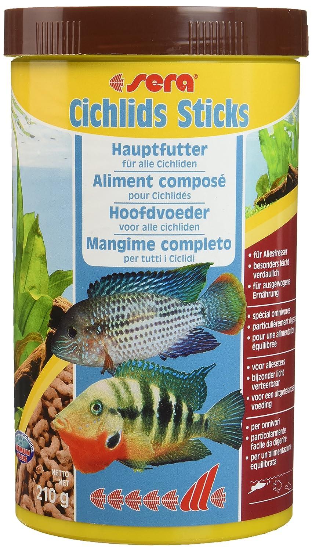 Sera Cichlids Sticks 250 ml 52g Mangime per Pesci Acquario: Amazon.es: Productos para mascotas