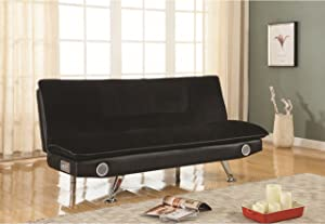 Coaster Home Furnishings Sofa Bed, Black