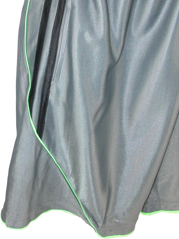 Street Line USA Mens Basketball Lounge Shorts with Pockets Grey Medium
