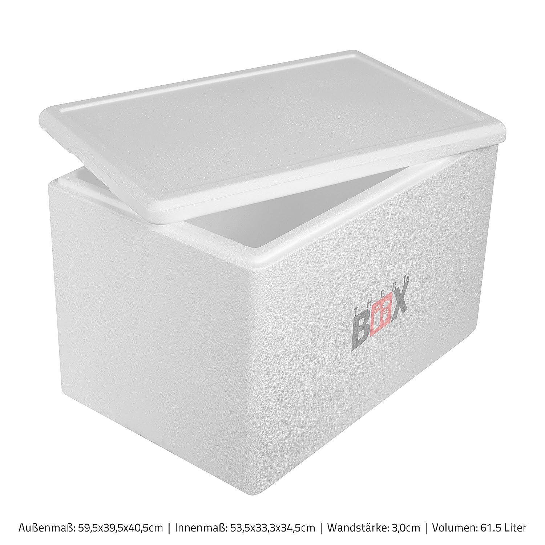 THERM-BOX Caja de Espuma de poliestireno 61W | Interior ...