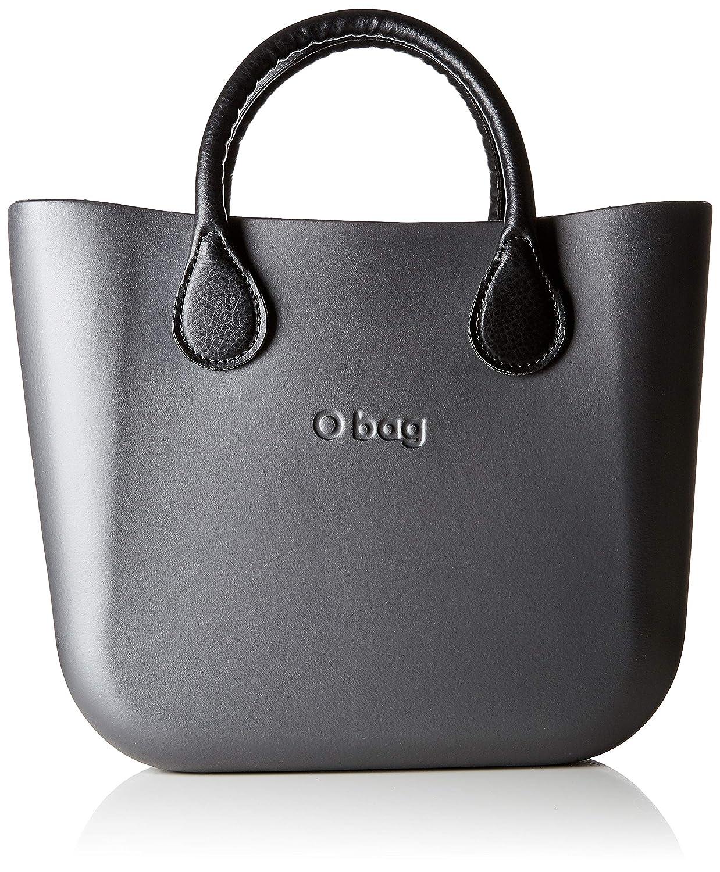 OBAG B002_038, Borsa a Mano Donna, 11x31x40 cm (W x H x L) O bag B002_038 Grigio (Grafite)