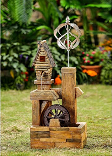 Jeco Wood Look Birdhouse