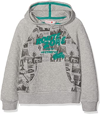 Sudadera para Ni/ños boboli Fleece Hooded Sweatshirt For Boy