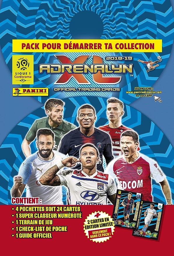 Panini Francia sa SA- Foot Adrenalyn 2018 – 2019 Starter Pack, 2418 – 015: Amazon.es: Juguetes y juegos