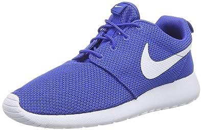 quality design 019e1 59b68 Nike Roshe One, Baskets basses Homme, Bleu (Game Royal White-Black