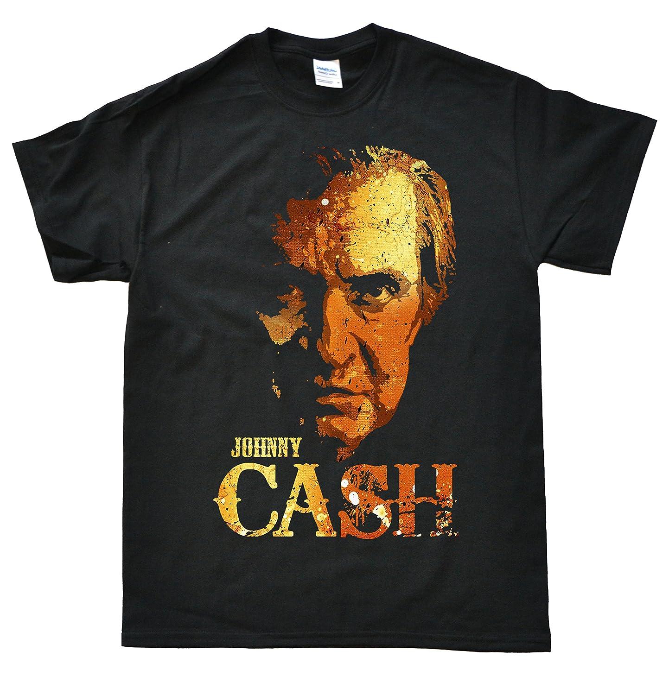 Stooble Men's Johnny Cash T-Shirt Stooble - 1ClickPrint