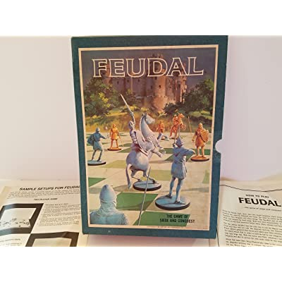 FEUDAL. The Game of Siege and Conquest (1967): Toys & Games