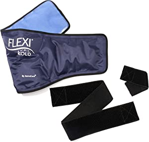 "FlexiKold Gel Neck Ice Pack w/Straps (23"" X 8"" X 5"") - 6301 Cold-Strap - Professional Cold Pack"