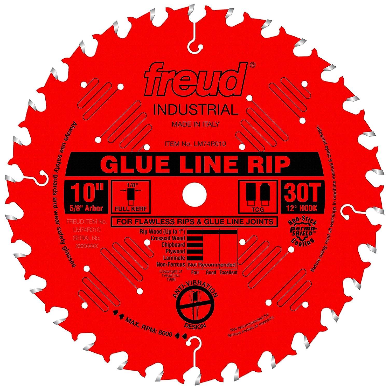 """Freud 10"""" x 30T Industrial Glue Line Ripping Blade (LM74R010)"""