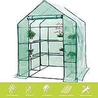 FOBUY - Invernadero Compacto de plástico PE