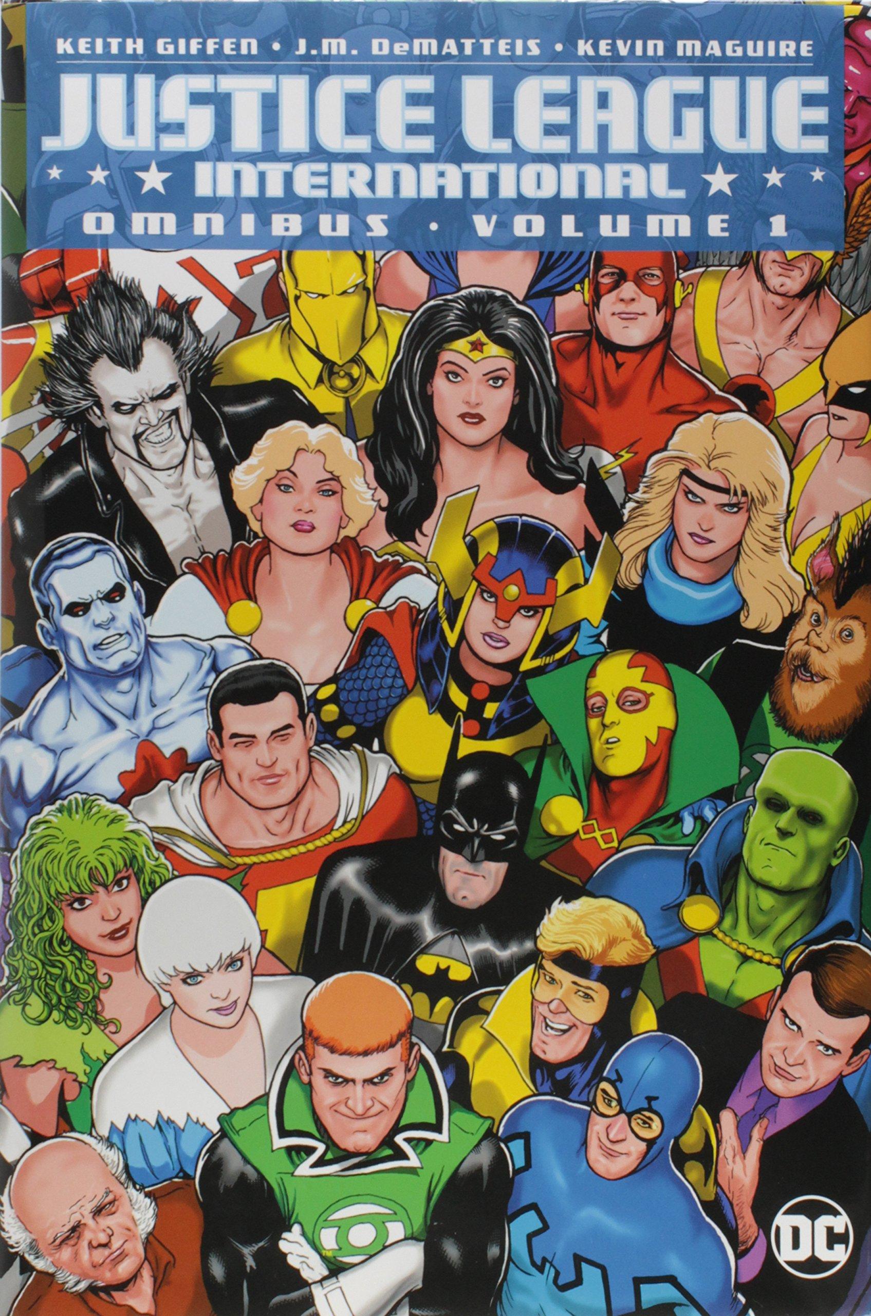 Justice League International Omnibus Vol. 1 by DC Comics
