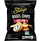 Stacy's Everything (Onion, Sesame, Poppy & Garlic) Flavored Bagel Chips, 8 Ounce (Pack of 12)