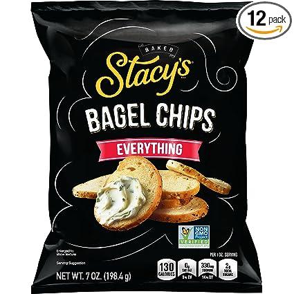 Papas fritas Stacys Bagel Chips. Bolsa de 8oz ...