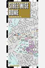 Streetwise Rome Map - Laminated City Center Street Map of Rome, Italy (Michelin Streetwise Maps) Map