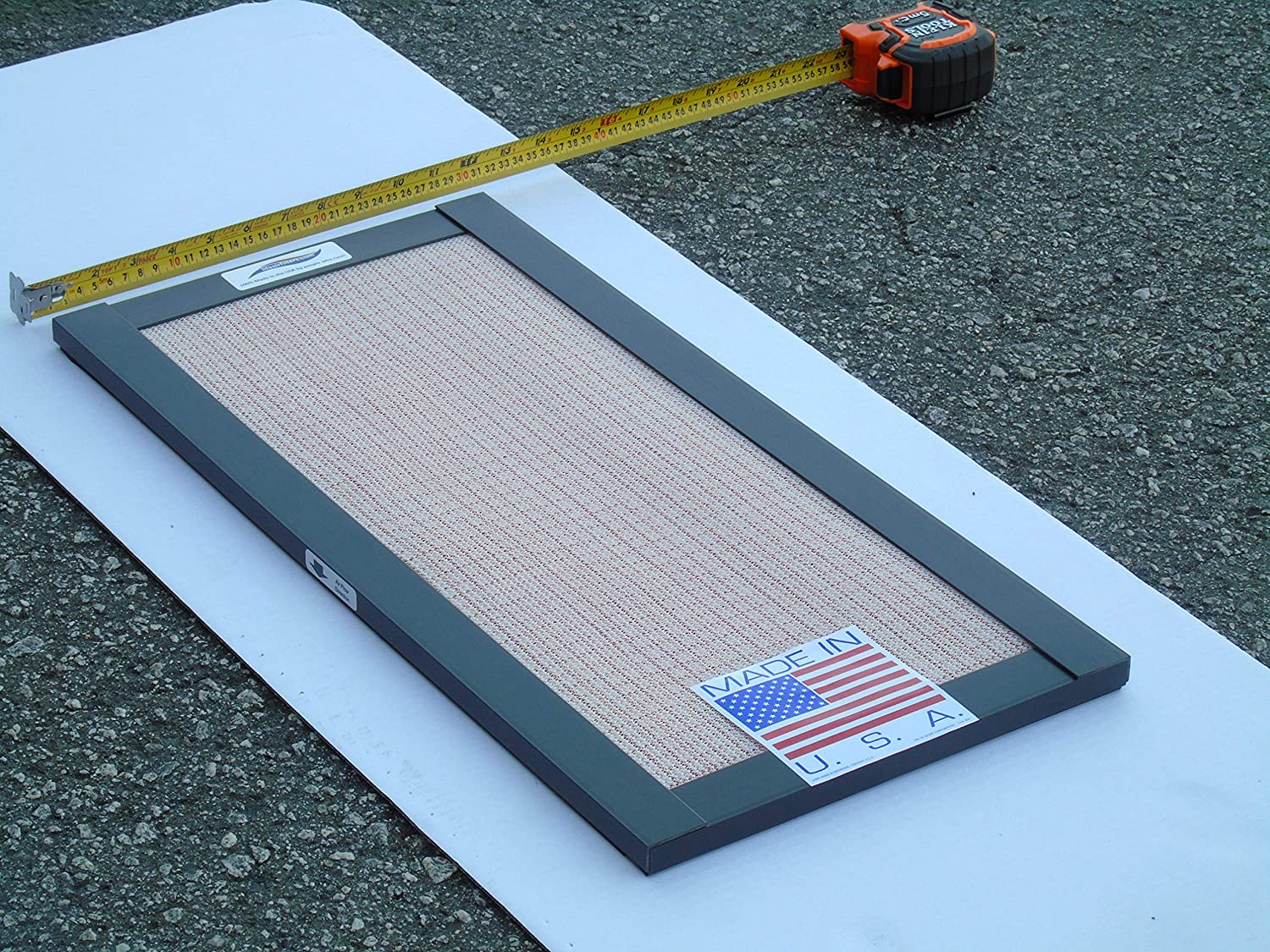 Permanent HVAC Air Filter 12 x 24 x 1-Inches Washable /& Reusable Electrostatic Filter Airflow Protection LifeAir Hypo-Allergenic Filter 100/% Made in The USA by People who Care.