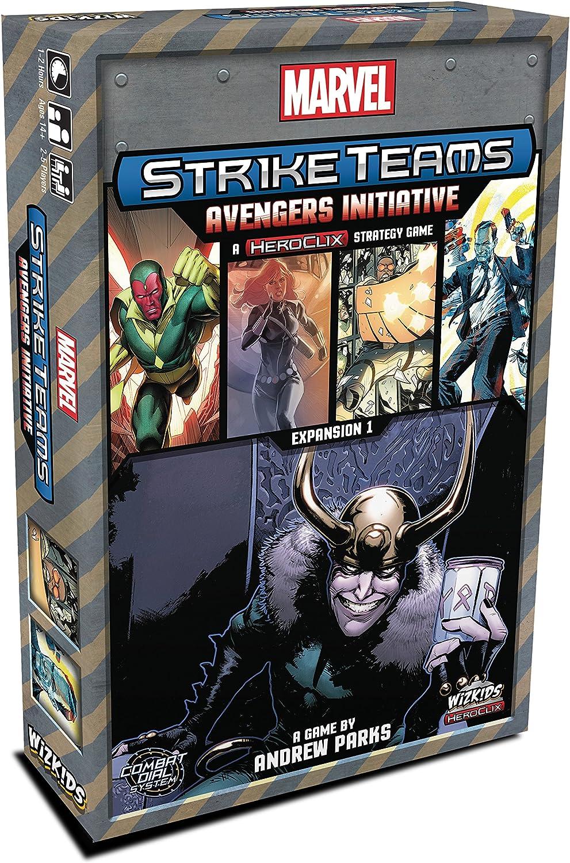 WizKids Marvel Strike Teams Strategy Game: Avengers Initiative ...