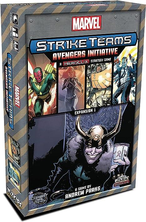 WizKids Marvel Strike Teams Strategy Game: Avengers Initiative - Expansión Juego de Mesa [Inglés]: Amazon.es: Juguetes y juegos