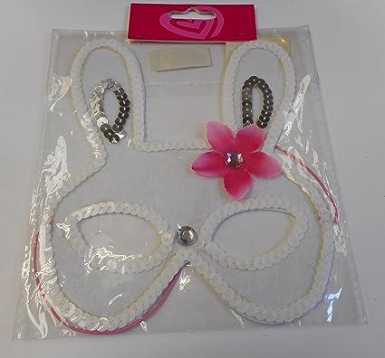Fiesta Infantil Gato Animal Fancy Dress Fiesta Máscara blanco roto blanco