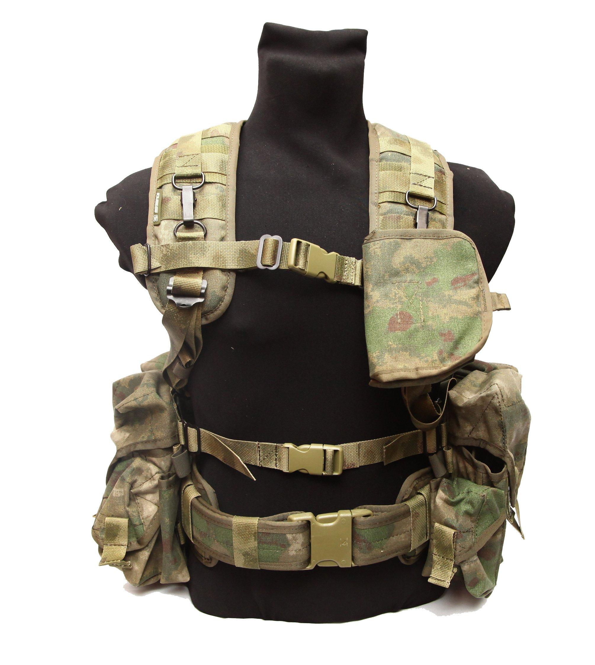 Russian army spetsnaz SPOSN SSO Smersh AK assault vest gear set A-tacs FG