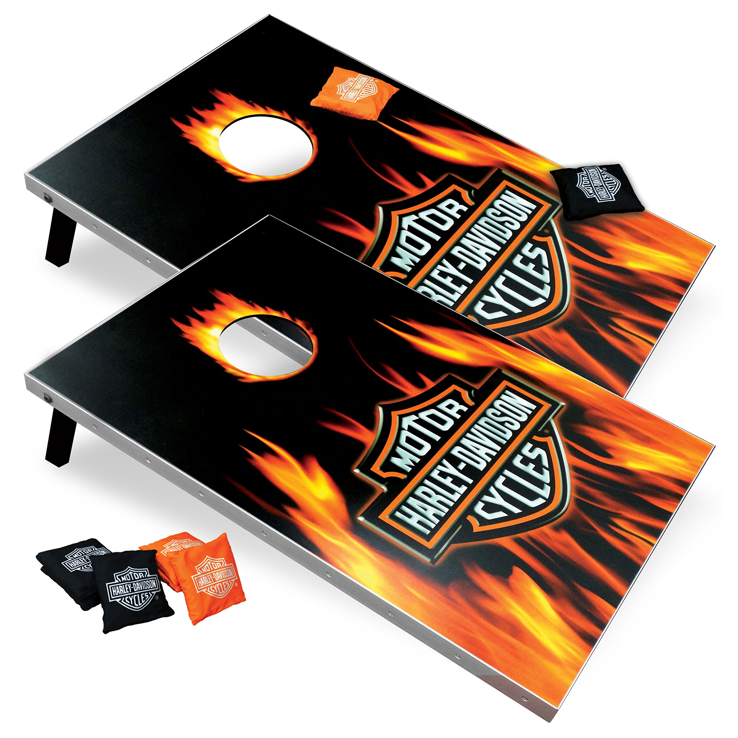 Harley-Davidson 66279 Flame Bar and Shield Bean Bag Toss by Harley-Davidson