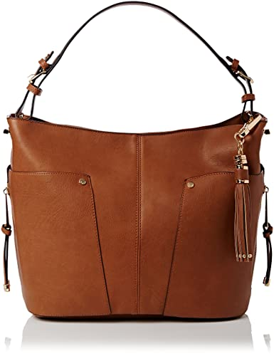 Dune Womens Dacey Shoulder Bag Tan/Pu: Amazon.co.uk: Shoes & Bags