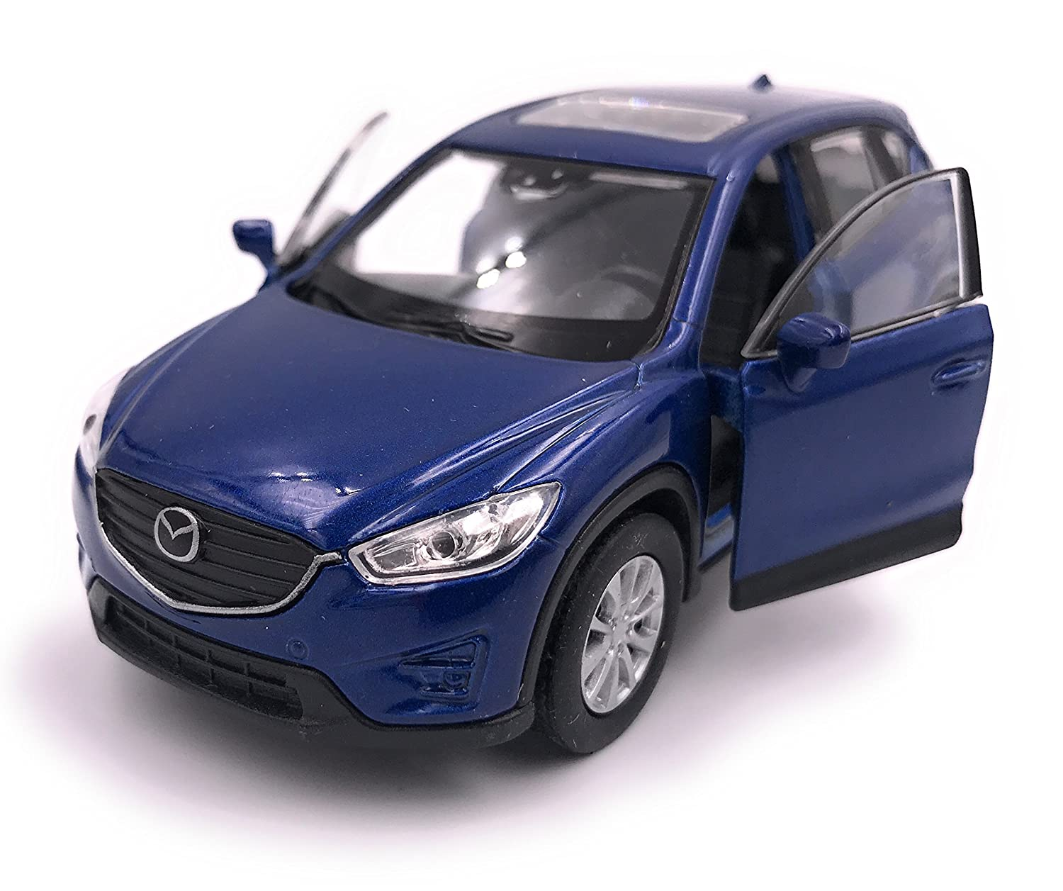 H-Customs Welly Mazda CX 5 Model Car Auto PRODOTTO CON LICENZA 1: 34-1: 39 Blu hcmmazdacx5blau2605